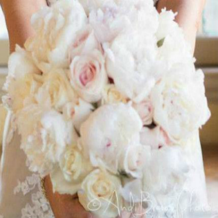 Peony Wedding Bouquet Package